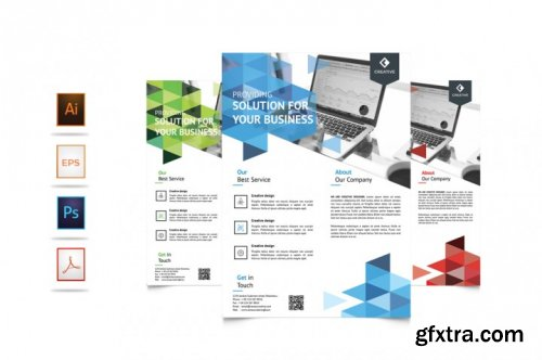Corporate Business Flyer Template Vol 6