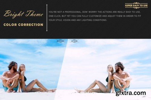 Neo Bright Color Grading photoshop actions,ACR and LUT Preset
