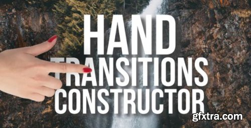 Hands Transitions Constructor - Premiere Pro Templates 162445