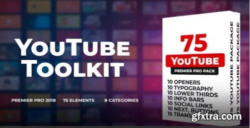 70 YouTube Toolkit - Premiere Pro Templates 162486