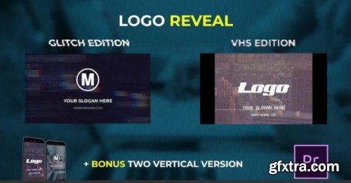 Logo Reveal - VHS & Glitch Edition - Premiere Pro Templates 162496