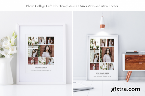 Ruby Grace Photo Collage Graduation Pack