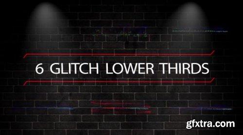 Glitch Lower Thirds 163284