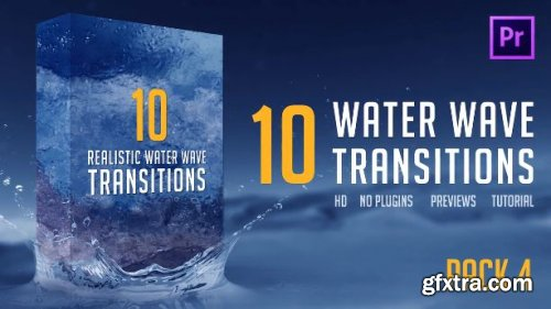 Water Wave Transitions Pack 4 164740