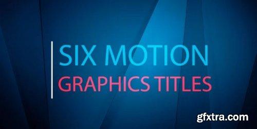 Six Motion Titles 164607