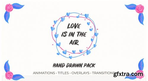Love Is In The Air V.2. Hand Drawn Pack 165549