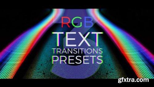 RGB Text Transitions Presets V.3 165432