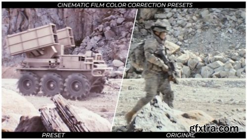 Cinematic Film Color Correction Presets - After Effects 159698