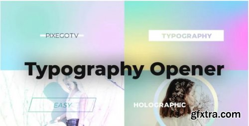 Typography Opener - After Effects 165343
