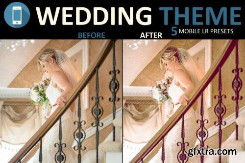 Neo Wedding mobile lightroom presets theme