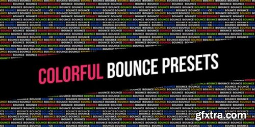 Colorful Bounce Presets - After Effects 163993