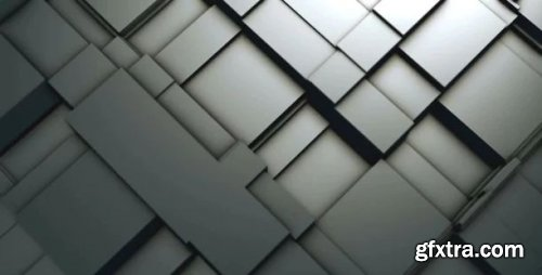 Moving Metal Blocks - Motion Graphics 164455