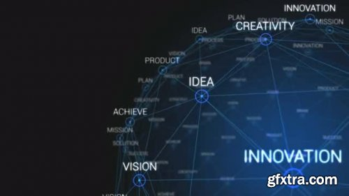 Business Words Loopable Rotation - Motion Graphics 164731