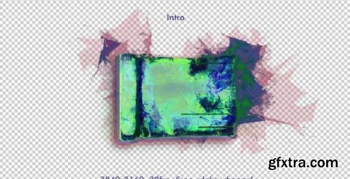 Digital Glitch Parchment Scroll - Motion Graphics 166923