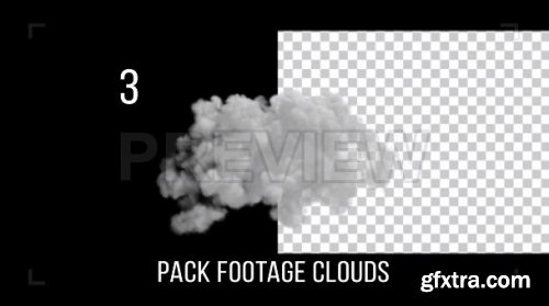 Cloud Footage Pack With Alpha Channel - Motion Graphics 167081