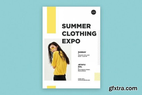 CreativeMarket - Fashion Event Flyer 3279196