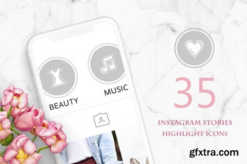CreativeMarket - Cool Stickers - Instagram Story Icon 3363752