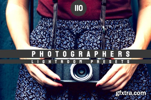 110 Photographers Lightroom Presets