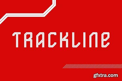Trackline Font