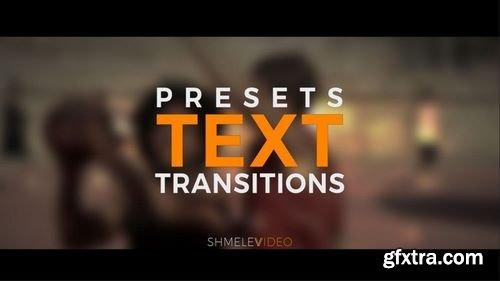 MotionArray Text Transitions Presets 172171