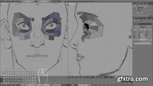 3D Character Modeling in Blender For Beginners