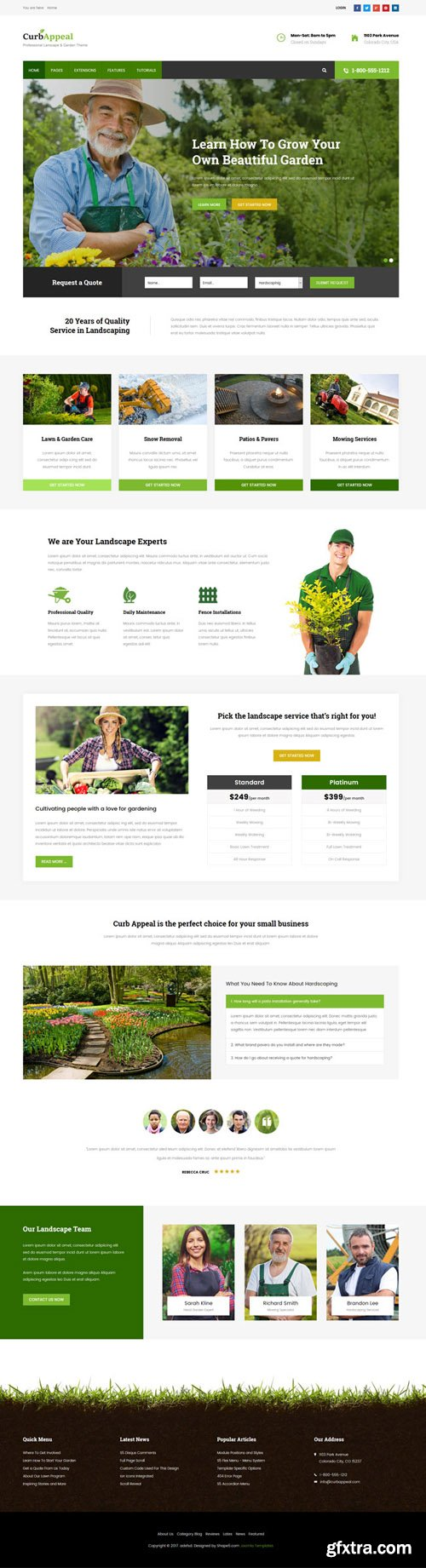 Shape5 - Curb Appeal v1.0.3 - Joomla Template