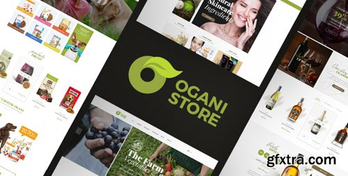 ThemeForest - Ogani v1.0 - Organic, Food, Pet, Alcohol, Cosmetics Opencart 2.3 & 3.x Theme (Update: 7 December 17) - 20593738