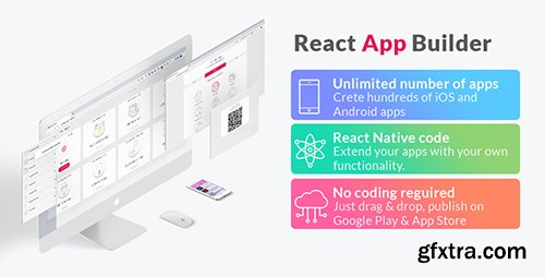 CodeCanyon - React App Builder v9.0.0 - Unlimited number of apps - 22649230