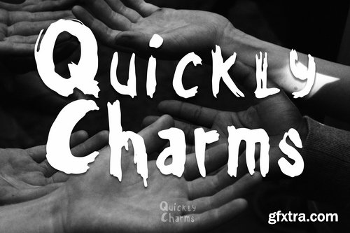 CM - Quickly Charms - Brush Font 3435206