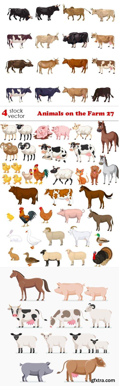 Vectors - Animals on the Farm 27