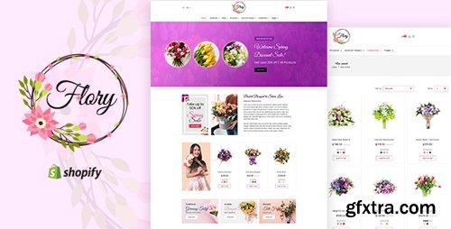 ThemeForest - Flory v1.0 - Florist, Flower Bouquet, Gifts Shopify Theme - 22559811