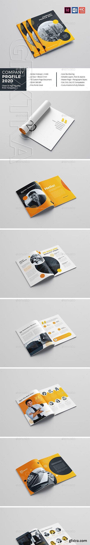 GraphicRiver - Company Profile 2020 23210366
