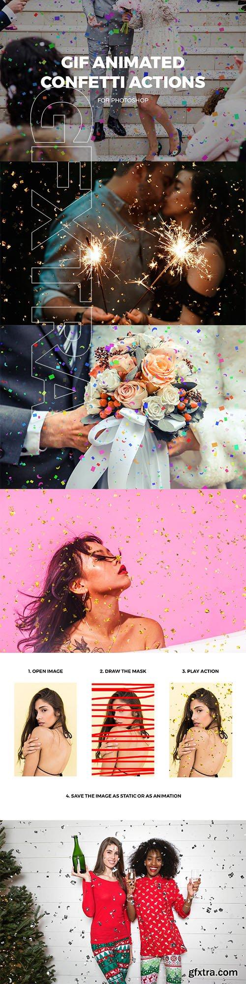 CreativeMarket - Gif Animated Confetti Actions 3325616