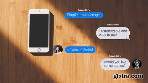Text Messages For Premiere Pro 80530
