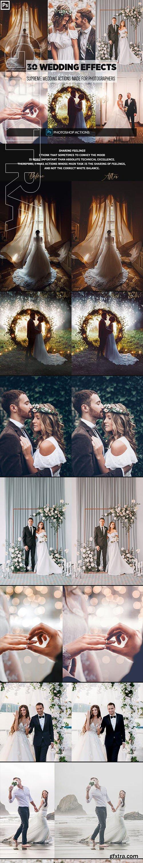 GraphicRiver - 30 Wedding Photoshop Effects 23179940
