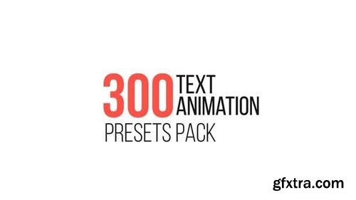 MotionArray Text Animation Presets Pack 75848