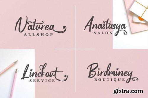CM - Pinkalova - Handwritting Script Font - 3442701