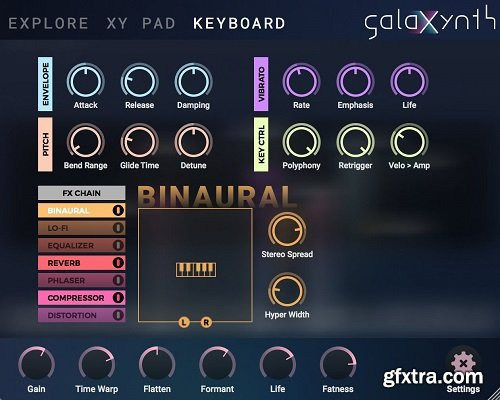 Heart Of Noise GalaXynth v1.2.1 WiN OSX Incl Patched and Keygen-R2R