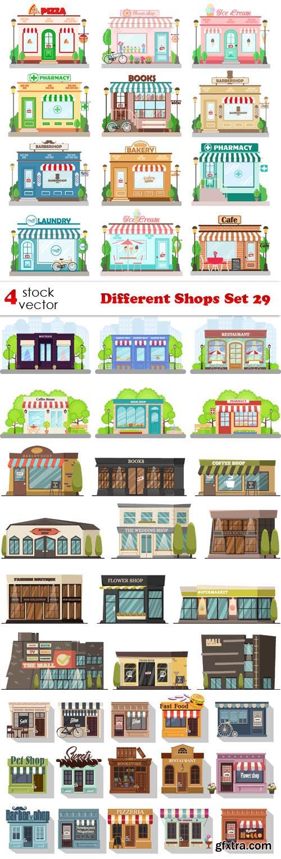 Vectors - Different Shops Set 29
