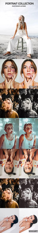 GraphicRiver - Pro Portrait Photoshop Actions - 23054350