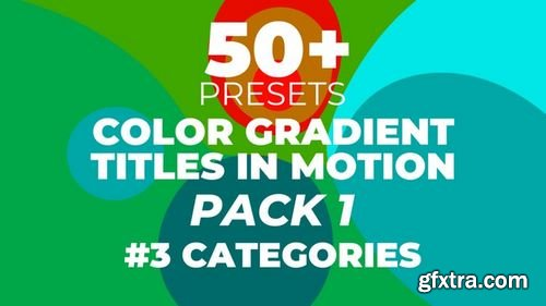 MotionArray Color Gradient Titles In Motion 177516