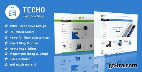 ThemeForest - Techo v1.1 - Minimalist Shopping Electronics Responsive PrestaShop 1.7 Theme - 22069532