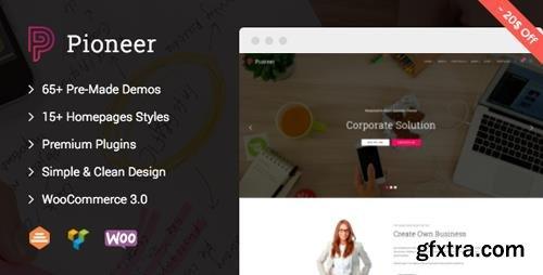ThemeForest - Pioneer v1.0.6 - Multi-Concept Corporate WordPress Theme - 16540592