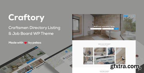 ThemeForest - Craftory v1.2.0 - Directory Listing Job Board WordPress Theme - 20919308