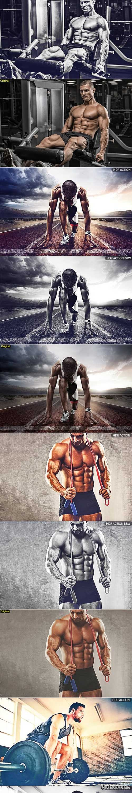 GraphicRiver - Pro HDR Photoshop Action 2 23136048