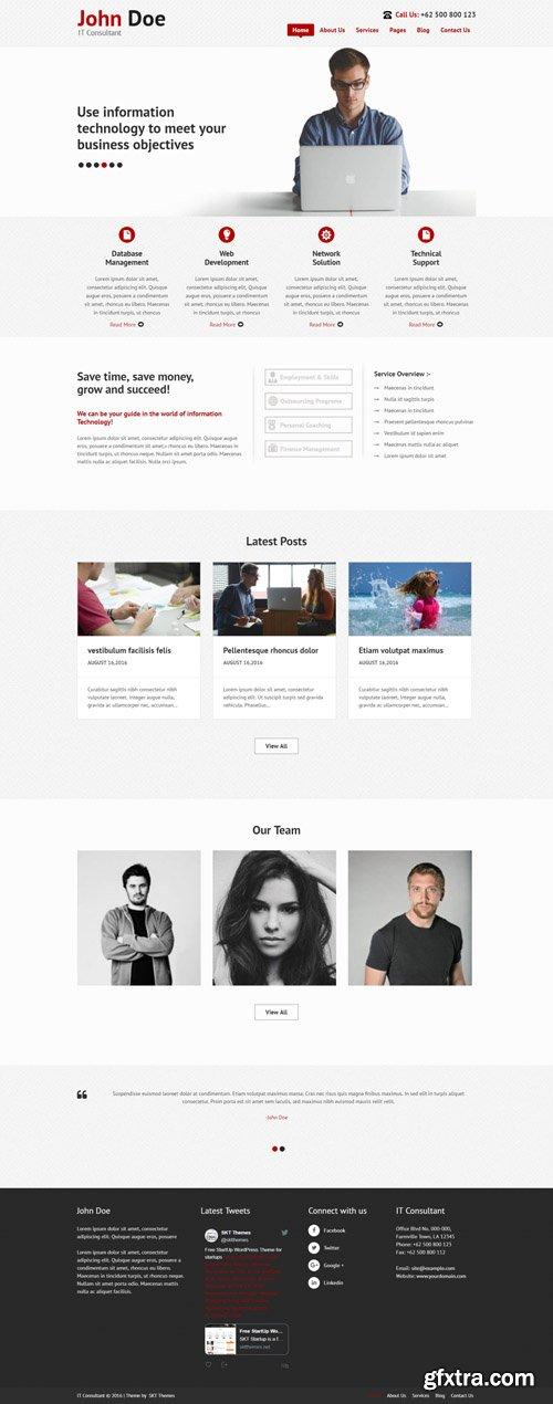 SKT Themes - IT Consultant Pro v1.1 - Responsive WordPress Theme
