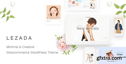 ThemeForest - Lezada v1.3.0 - Minimal & Creative WooCommerce WordPress Theme - 21949766
