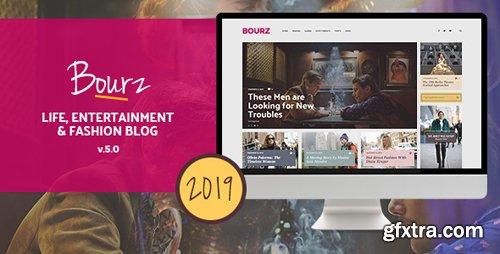 ThemeForest - Bourz v5.0 - Life, Entertainment & Fashion Blog Theme - 14026649