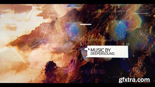 VideoHive Glitch Slideshow 20424969