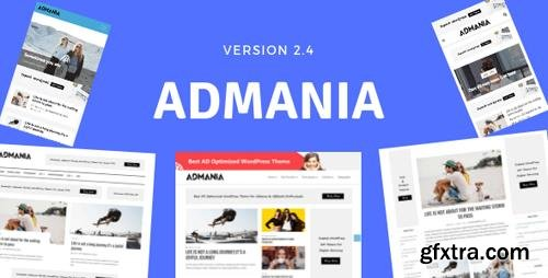 ThemeForest - Admania v2.4.1 - AD Optimized WordPress Theme For Adsense & Affiliate Enthusiasts - 18194026